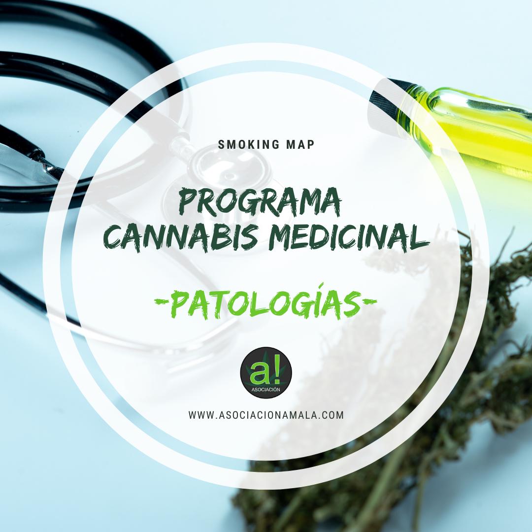 patologías en el programa cannabis medicinal de smoking map