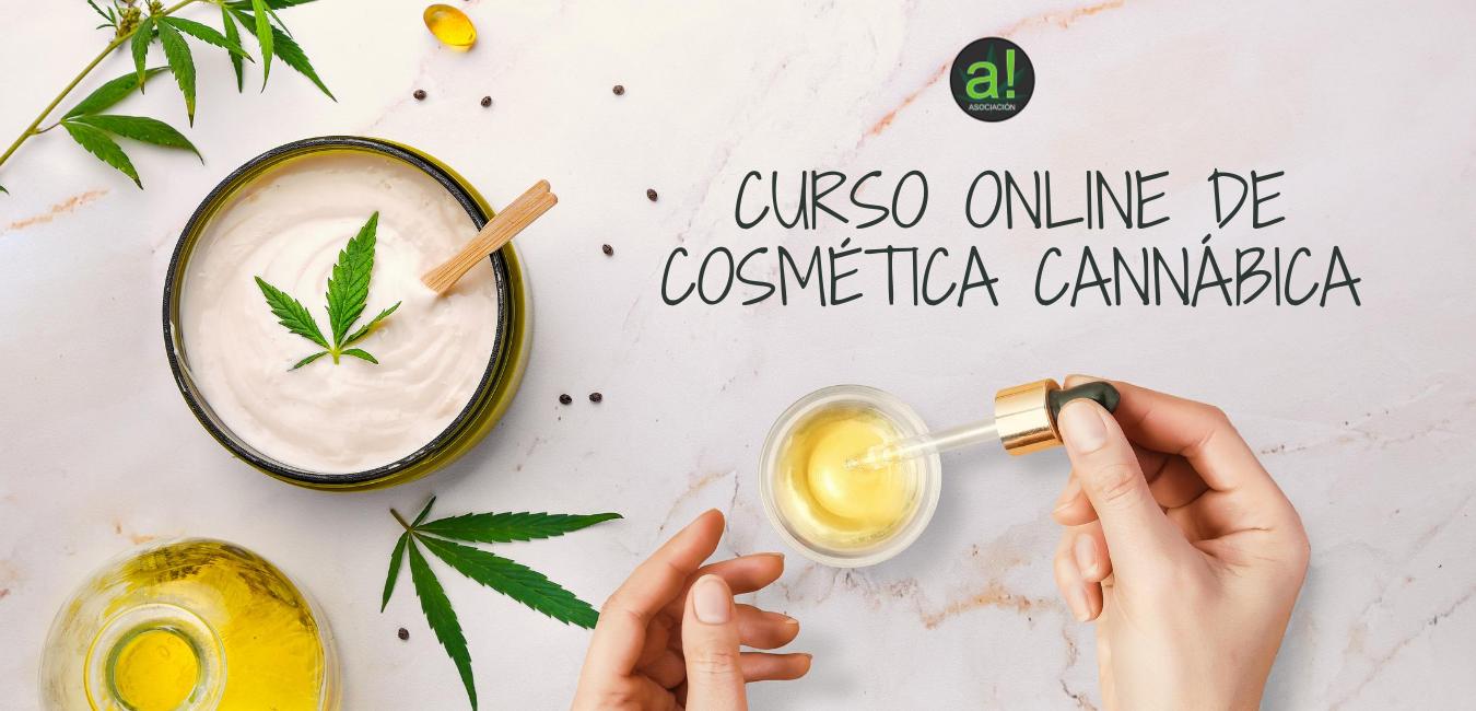 Curso online de cosmética cannábica