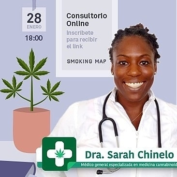consultorio online cannabis medicinal jueves 28 enero Dra Sarah