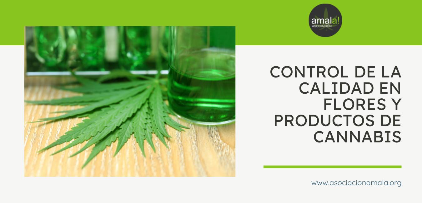 Control de la calidad en flores y productos de cannabis