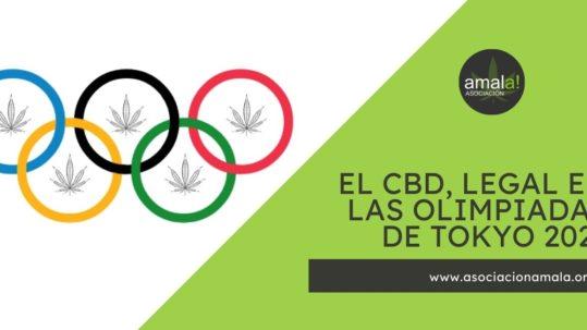 cbd legal en las olimpiadas Tokio 2021