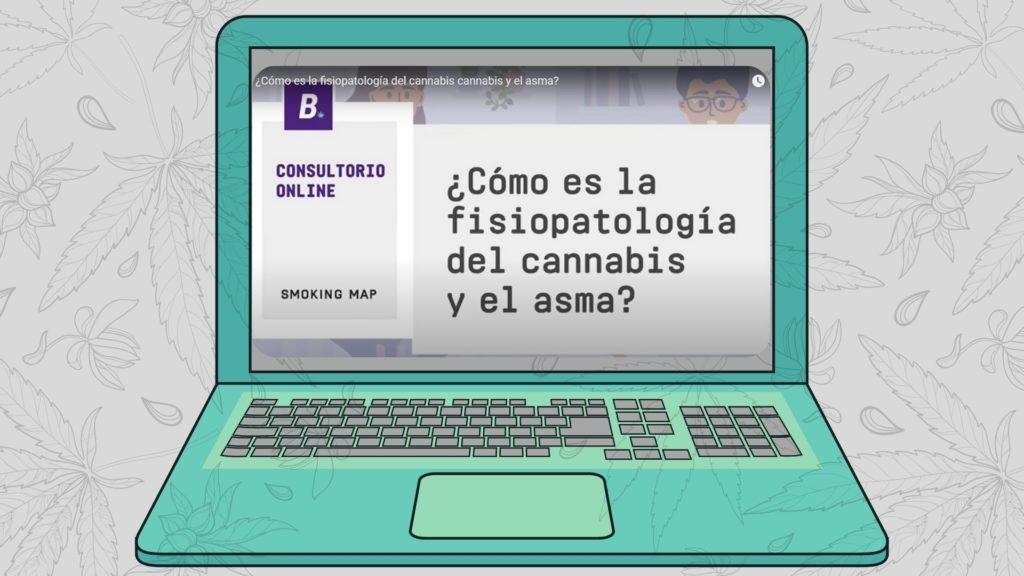 ¿Cómo es la fisiopatología del cannabis cannabis y el asma?